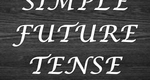 Contoh Kalimat Futur Simple
