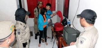 Mahasiswa dan Pasangannya Digiring Satpol PP