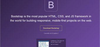 Bootsrtap 4.0.0 Alpha 2 Telah di Release