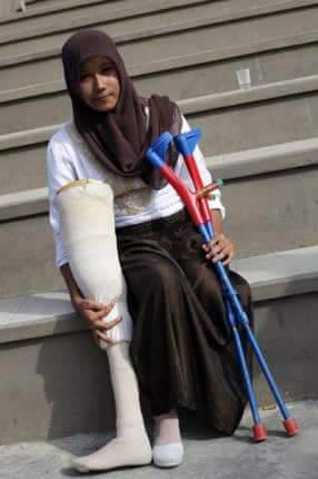"""DELISA Asli, Korban Tsunami Yang Kisahnya di-Film-kan """"Hafalan Shalat Delisa"""""""