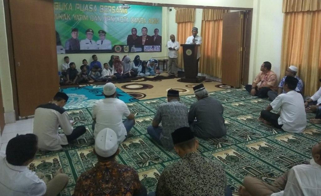 PPNI Kota Banda Aceh Menggelar Buka Puasa Bersama Anak Yatim