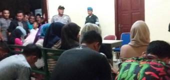 Pasangan Remang-Remang Terjaring Razia WH di Samadua