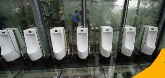 Toilet Transparan Di China
